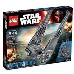 LEGO Star Wars Kylo Ren's Command Shuttle Star Wars Toy
