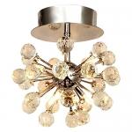 Lightess Ceiling Lighting Crystal Chandelier Lamp Modern Mini Style Pendant Lights Flush Mount Light Fixtures