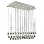 Lightess Ceiling Lighting Crystal Chandelier Modern Elegant Pendant Lamp Flush Mount Light Fixtures