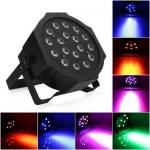 Lightess Par Lights 18LED Stage Light RGB Effect Lighting Sound Activated Stand Lamp