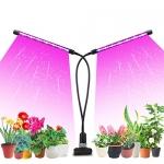 Likesuns Led Grow Light for Indoor Plants, Dual Head, 20W
