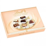 Lindt Creation Dessert Gift Box, Fine Milk, Dark and White Chocolate, 170g