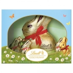 Lindt Easter Gold Bunny Gift Box Milk Chocolate, (1 x 200g + 5 x 10g)