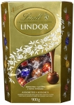 Lindt Lindor Assorted Chocolate Truffles, Value Pack, 900g