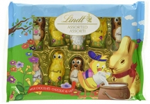 Lindt Lindor Easter Chocolate Fun Friends, Milk Chocolate, 100g