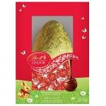 Lindt Lindor Milk Chocolate Easter Egg Gift Box, 215g