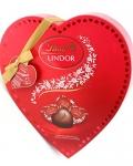 Lindt Lindor Valentine Milk Chocolate Heart, Gift Box, 202g