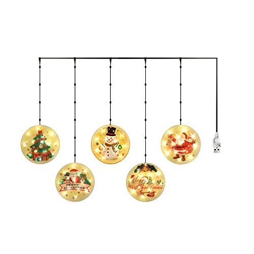 50% Off Coupon Code for Lixada Christmas Hanging Light Decoration, Indoor/Outdoor