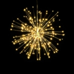65% Off Coupon Code for Lixada Fireworks Hanging Starburst Lamp with Remote Control
