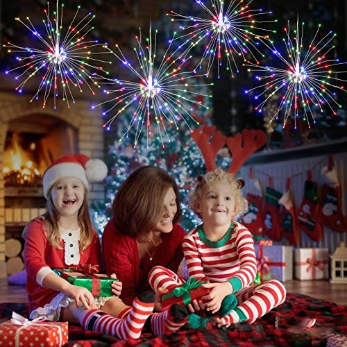 50% Off Coupon Code for Lixada Fireworks Light Christmas String Lights with Remote Control