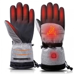 Lixada Heated Touch Screen Thermal Gloves