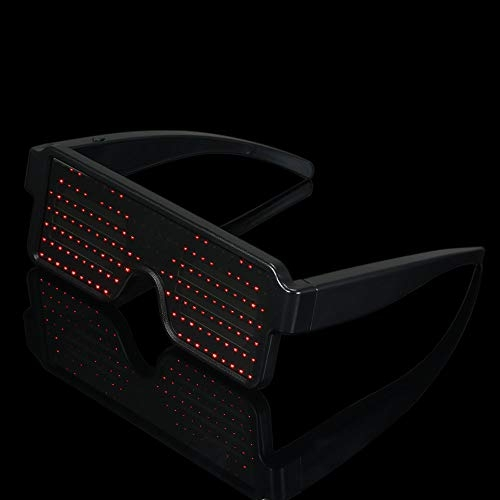 50% Off Coupon Code for Lixada LED Animated Rechargeable Glasses