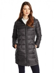 London Fog Women's Packable Down Jacket with Hood