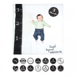 Lulujo Baby's First Year Deluxe Blanket & Card Set