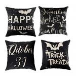 LUTER 4Pcs Halloween Pillow Case