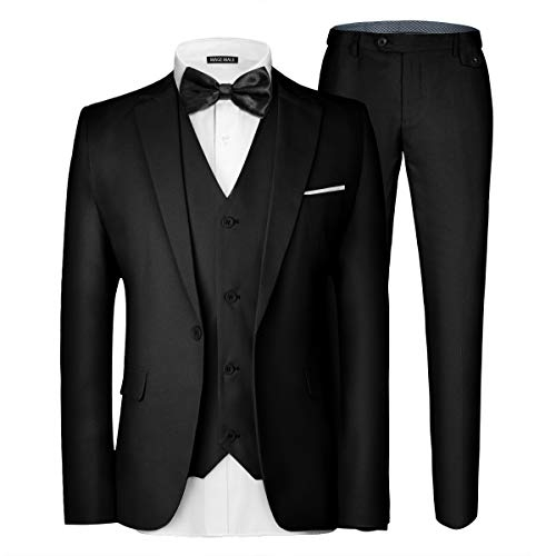 MAGE MALE Men's 3 Pieces Suit
