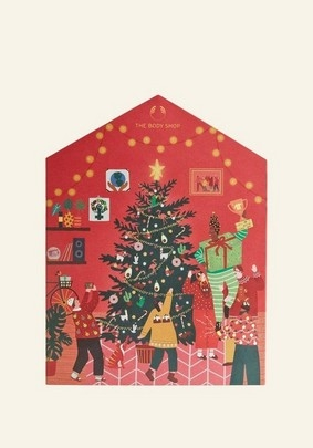 The Body Shop Make It Real Together Big Advent Calendar ($224 value)