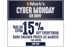 Mark's Cyber Monday Sale