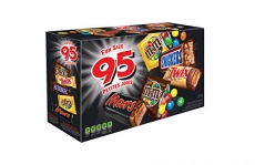 MARS ASSORTED Chocolate Halloween Candy Bars, Variety Pack, 95 count