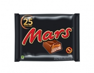 Mars Chocolate Halloween Candy Bars, 25 count
