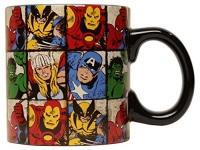 Marvel Comics Grid Jumbo Ceramic Mug, 20 oz