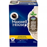Maxwell House Morning Blend Coffee 100% Compostable Pods, 6 Boxes of 12 Pods