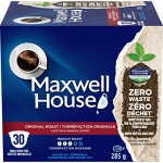 Maxwell House Original Roast Coffee Pods, 120 Pods (4 Boxes of 30 Pods)