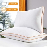 Maxzzz Hotel Collection Down Alternative, Standard Size, Hypoallergenic Pillow for Side and Back Sleepers
