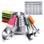 U-Taste Magnetic Measuring Cups and Spoons Set
