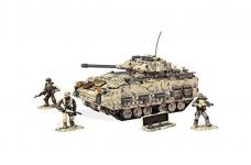 Mega Construx Call of Duty Desert Tank Collector Construction Set
