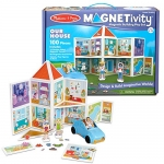 Melissa & Doug Magnetivity – Our House with Vehicle
