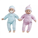 Melissa & Doug Mine to Love Twins Luke & Lucy Dolls