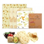 Meowoo Reusable Eco Friendly Beeswax Food Wraps