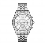 Michael Kors Men's Silvertone Lexington Watch