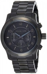 Michael Kors Men's Black Tonal Runway Watch