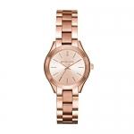 Michael Kors Mini Slim Runway Rose Goldtone Watch