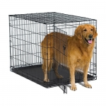 MidWest Homes for Pets New World 42″ Folding Metal Dog Crate