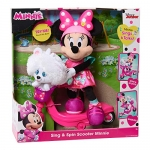 Minnie Happy Helpers Sing & Spin Scooter Feature Plush, Pink, Small