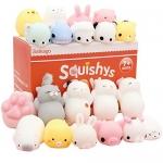 Mochi Squishys Toys, Satkago 20 Pcs Kawaii Mini Squishys