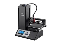 Monoprice Select Mini 3D Printer with Heated Build Plate, Includes Micro SD Card and Sample PLA Filament – 121711 – Black
