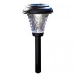 Moonrays Payton Solar-Powered Plastic LED Path Light, 8-Pack