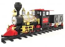 MOTA Classic Holiday Train Set with Real Smoke