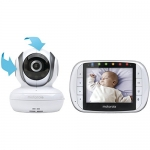 Motorola Wireless Video Baby Monitor with 3.5 Inch Color LCD Screen