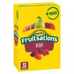 Mott's Fruitsations+Veggie, Berry, 32-Count