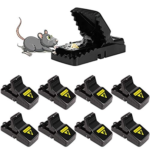 Mouse Traps, Snap Trap – 8 pack
