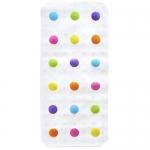 Munchkin Dandy Dots Bath Mat, White