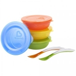 Munchkin Love-A-Bowls, Red/Yellow/Green/Blue