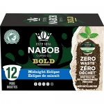 Nabob Bold Midnight Eclipse Coffee 100% Compostable Pods, 6 Boxes of 12 Pods