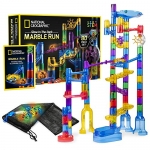 NATIONAL GEOGRAPHIC Glowing Marble Run, 80 Piece