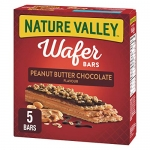NATURE VALLEY Wafer Bars Peanut Butter Chocolate, 5 Count